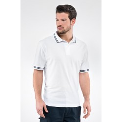 Polo M.M Piquet SMITH con bordini 100% cotone