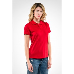 Polo donna ANGY JERSEY 100% cotone jersey