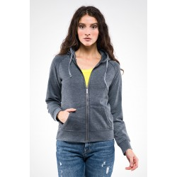 Felpa donna full zip MARILYN
